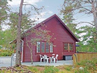 2 Zimmer Unterkunft in Varaldsøy