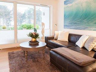 Haus am Meer 2 -Teilmeerblick, beste Lage nur wenige Schritte vom Strand entfern