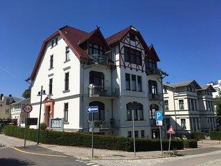 2 Zimmer FeWo Seebad Ahlbeck Villa Medici Wohnung Nr. 5