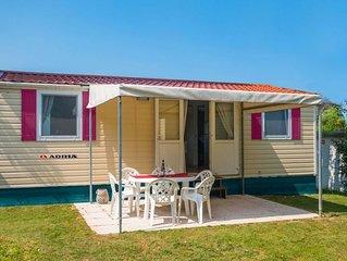 Ferienhaus - 5 Personen*, 24 m2 Wohnflache, 2 Schlafzimmer, tierfreundlich, kind