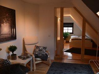 In charmantem Gästehaus ruhig und zentral wohnen