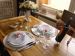 Moderne Ferienwohnung mit wundervollem Blick zum Brocken, ideal fur Paare, WLAN