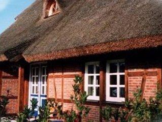 4-Sterne-Reetdachhaus, sehr komfortabel und gemütlich eingerichtet, location de vacances à Garz