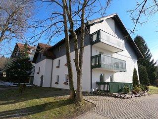 Neu !! Helle hochwertig renovierte 2 Zimmer Ferienwohnung am Hütteberg