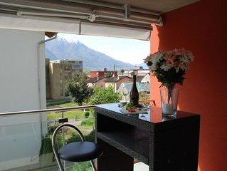 Ferienwohnung Gaggiole in Gordola - 6 Personen, 3 Schlafzimmer