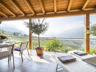 Lichtdurchflutete moderne Panoramawohnungen mit Terrasse und Bergblick