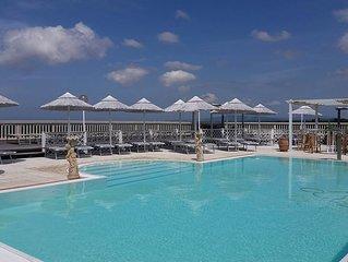Ruhige und kinderfreundliche Etruscan Resort mit Pool und Kinderspielplatz. B4