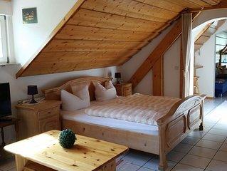 Ehrenmättlehof: Ferienwohnung E10, 45qm, Wohn-/Schlafbereich, max. 3 Personen