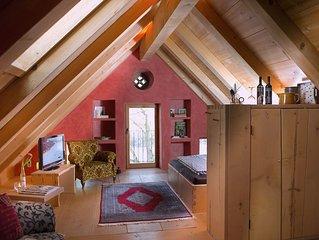 Appartement Heuboden im Dachgeschoss Atelier mit Dusche / WC