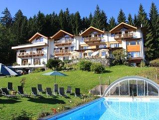 Das Paradies bei Kitzbühel, Wohnung Oberndorf im Gartenhotel Rosenhof