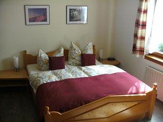 Ferienwohnung 40qm, 1 Schlafzimmer, max. 4 Personen