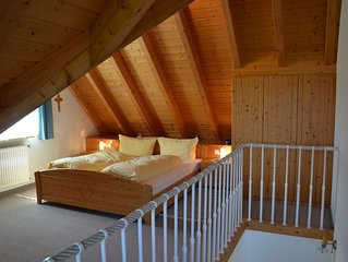 Berghofblick, 50qm, Balkon, 1 Schlafzimmer, 2 Personen