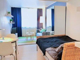 Beste Lage im Medienhafen, Rheinufer, KO, Altstadt und Messe - sauber und ruhig