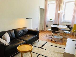 zentral, ruhig  & neu: charmante Wohnung im Textilviertel