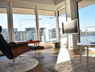 Traumhaftes und sehr hochwertiges Apartment, direkt am Wasser, beste Aussicht!