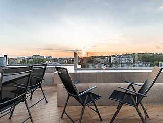 New apartment with big terrace