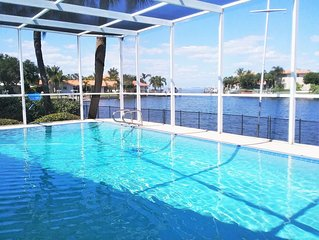 Jan 2020 Avail, Inquire re Weekly Stays; Waterfront, Pool, Dock, Stunning Views