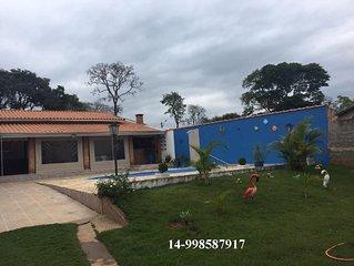 Casa frente pra represa, Costa Azul represa jurumirim Avare