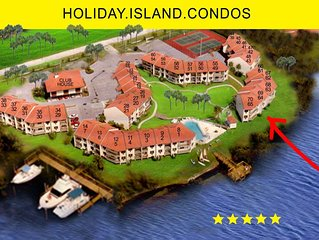 Island Vacation - Sommer Special - Family 3-6 - Direct Water Front