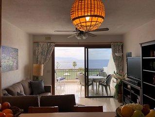 charmantes, gemütliches 2 Zimmer Apartment mit fantastischen Meerblick