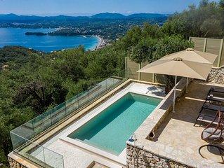 Villa Lunaria - Breathetaking from a luxury Villa in Spartilas, Corfu