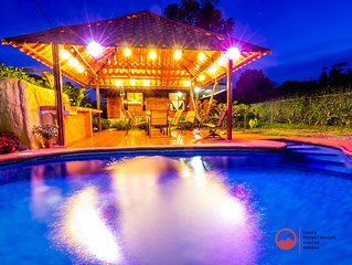 Privated with pool-Green Treasure House Fortuna #5