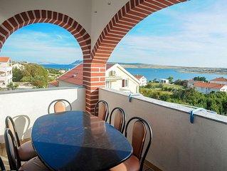 Ferienwohnung RB  A9(8+2)  - Novalja, Insel Pag, Kroatien