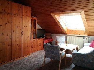 2-Zimmer-Ferienwohnung in Meersburg mit Balkon
