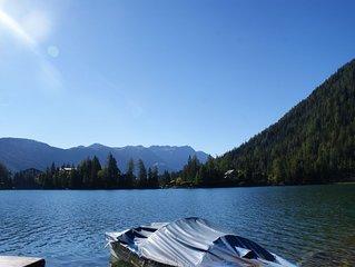 Attique avec vue sur le lac de Champex et les montagnes, pour 4 personnes