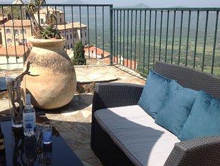 Maison de charme grande terrasse Belgodere Balagne