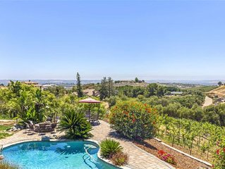 Country Retreat, near Oceanside Beaches, 6 Wedding Venues and Camp Pendleton