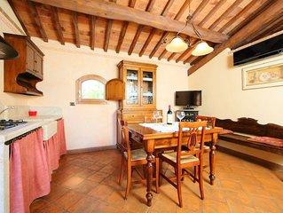 Ferienwohnung Casale Ischieto in Serre di Rapolano - 4 Personen, 2 Schlafzimmer