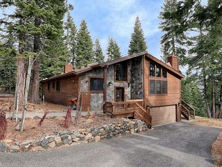 A tranquil mountain view with easy access to Tahoe's top activities & amenities