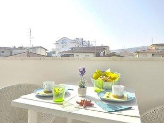 Ferienwohnung Tortoreto für 5 Personen mit 1 Schlafzimmer - Penthouse-Ferienwohn
