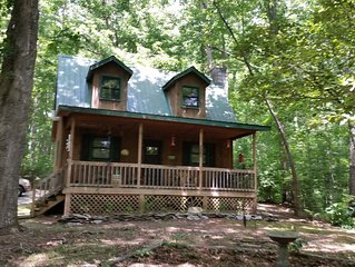 FALCONS NEST - MURPHY, NC - SWEET CABIN IN THE WOODS!
