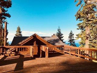 Rubicon Bay Tahoe cabin with panoramic Lake views