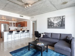 New Listing! Beautiful Midtown 2BR APT (Sleeps 6)