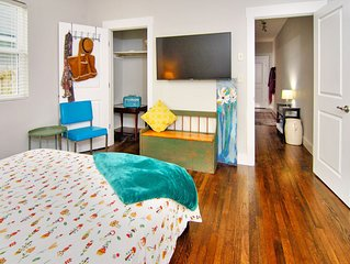 San Marco Hideaway Suite-sanctuary in the city. Large 1BR/1BA/Daybed sleeps 4