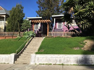 Boutique Bungalow One by Waterfront, Walk to Vallejo Ferry to SF and Winetrain