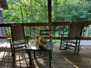 Treetop Living in Scenic Rockport Village Center - We Just Look Remote!