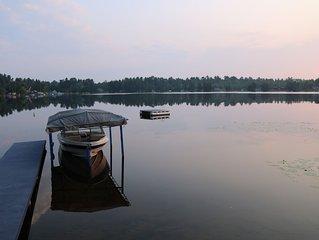 Lake Louise cottage near Loretto Michigan