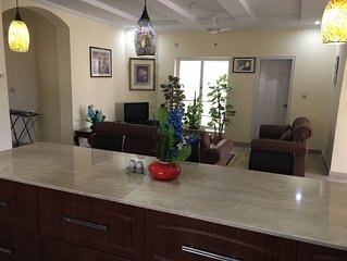 2 Bedroom, 2 Bath Furnished House In Islamabad Sector D-12/2 (Second Floor)
