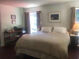 Master Bedroom Suite at Rancho Rincon Organic Farm