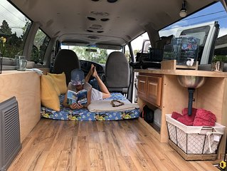 PONO Camper van for those who wants to explore Maui