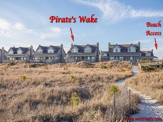 Oceanfront Townhouse, Sleeps 6 - Pirate's Wake