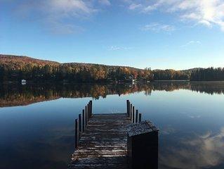 Lake-front chalet hideaway