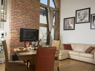 Le 1153 Loft St-Jean for rent - Old Quebec City
