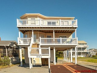 GREAT 4 BR 3 BA w/ Ocean View and Easy Beach Access!! - Finally Beachin'