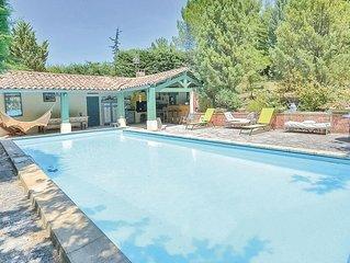 2 Zimmer Unterkunft in Roussillon