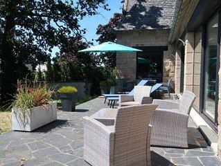Ferienhaus Villa la Boissiere (MLX200) in Morlaix - 8 Personen, 4 Schlafzimmer